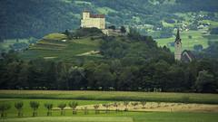 Lo Schloss di Balzers in Liechtenstein