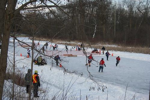 Pond Hockey Tournament, Rawden Creek, Stirling Ontario_4195