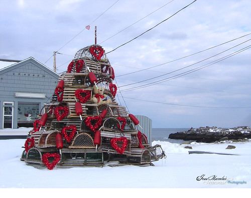 Lobster Trap Valentine, York Maine by souloyster