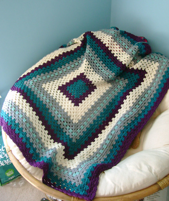 Granny Square afghan Flickr - Photo Sharing!