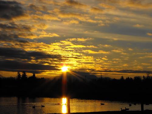 morning sunset red orange colors yellow night clouds sunrise scenery britishcolumbia reflexions lowermainland flickraward