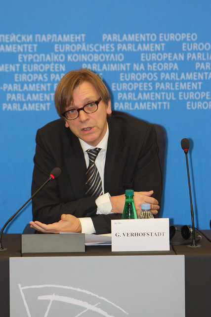 Press Conference >> Guy Verhofstadt [PRESS-CONFERENCE] | Flickr - Photo Sharing!
