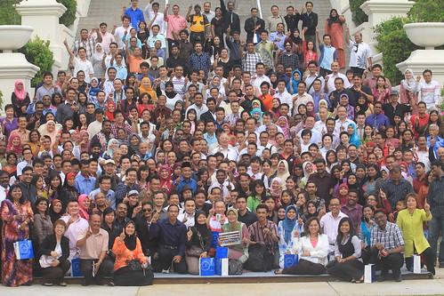 Jamuan Petang 1Malaysia dan sesi dialog bersama rakan internet.