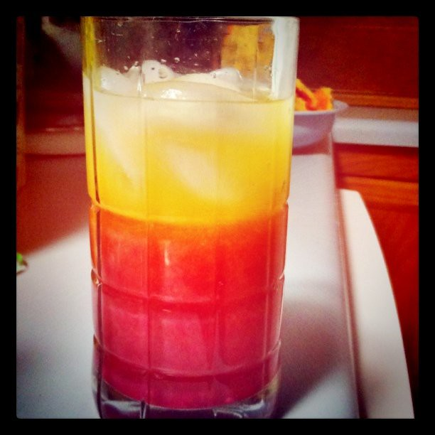 Tequila Sunrise | Tequila sunrise with fresh squeezed orange ...