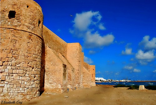 old travel building history architecture tunisia djerba afryka houmtsouk elisabethgaj 100commentgroup djerba2010 fortborjelkbir