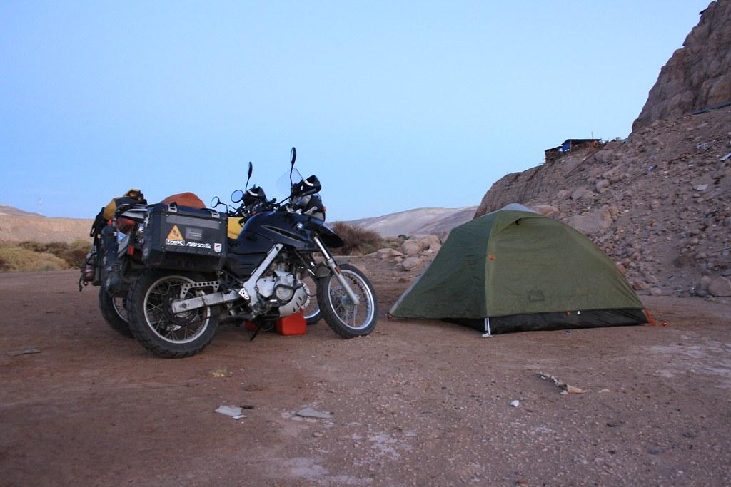 We camped!