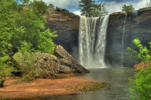 waterfall nikond50 lookoutmountain hdr blackcreek noccalulafalls gadsdenalabama etowahcounty loriwalden
