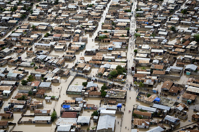 Hurricane Tomas Floods Streets of Gonaives, Haiti