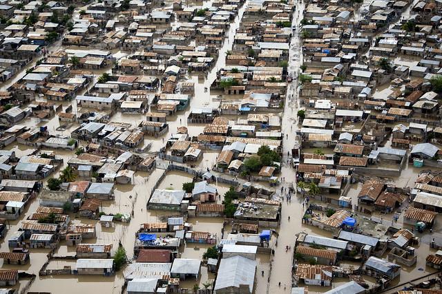 Hurricane Tomas Floods Streets of Gonaives, Haiti