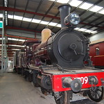 1709 on display at the NSW Rail Transport Museaum - 3 January 2011