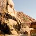 Dan Relaxes at Ma'in Hot Springs in Jordan