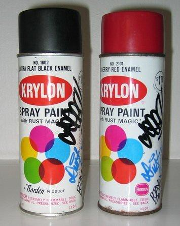 krylon spray paint cans flickr photo sharing. Black Bedroom Furniture Sets. Home Design Ideas