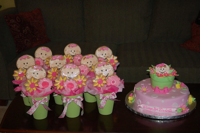 spring themed baby shower flickr photo sharing
