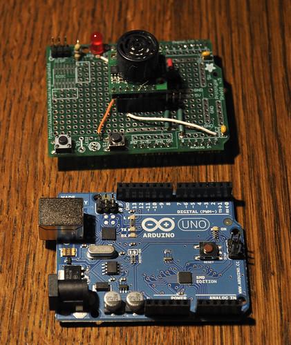 Usb midi controller theremin style on arduino uno bald