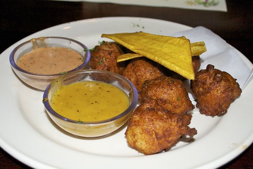 West African Garri Fritters Recipe photo by Bob B Brown