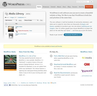 WordPress Product Page
