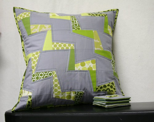 Urban Home Goods Swap Pillow Cover and Coasters