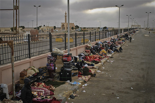 Stuck at the Egyptian Border