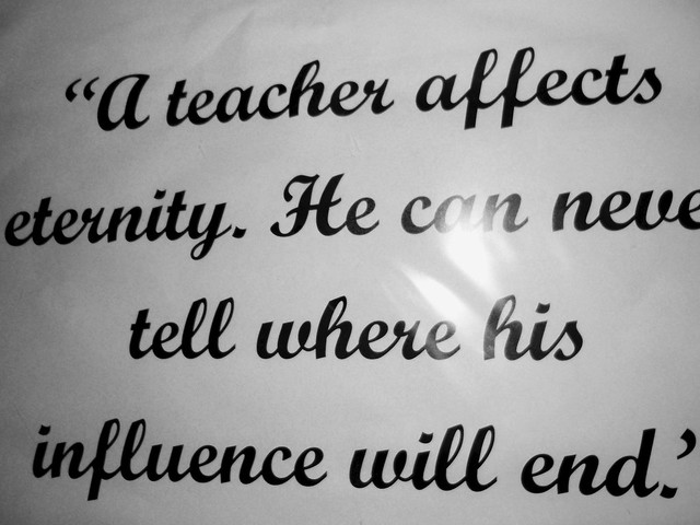 Header of A teacher