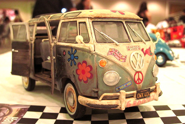 Hawaii NNL Model Car Show 2011: VW Microbus