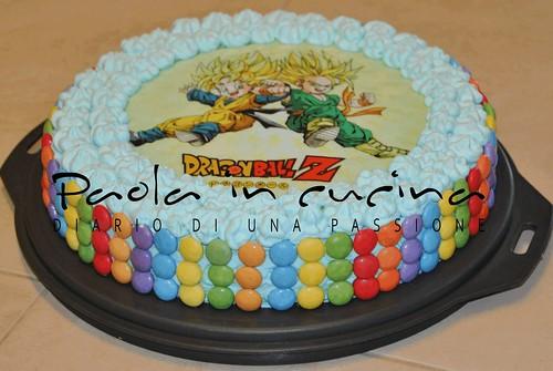Torta dragon ball z - Imagui