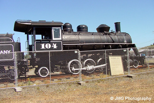 oregon mikado steamlocomotive 282 baldwinlocomotiveworks coosbaylumbercompany locomotive104