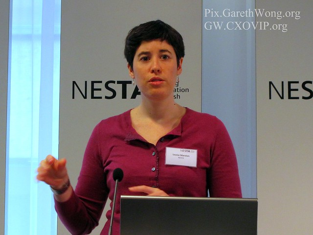 Louise Marston, Lead Policy Advisor at NESTA IMG_0498