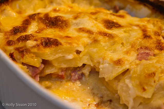 Scalloped Potatoes with Ham & Cheese | Flickr - Photo Sharing!