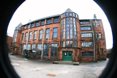Scotland Street School, by Rennie Mackintosh