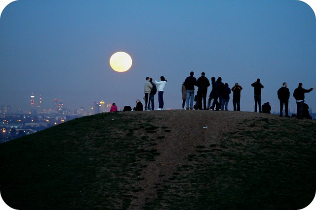 super moon - northolt - london