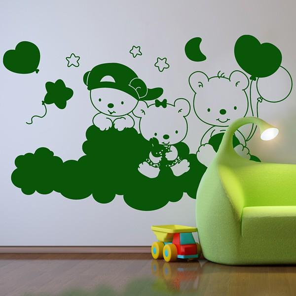 Vinilo decorativo infantil ositos flickr photo sharing - Papelpintadoonline com vinilos decorativos ...