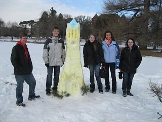 IRHA Snow Castle Building Contest