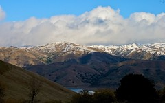 Clouds And Snow Over Calaveras Range (4)