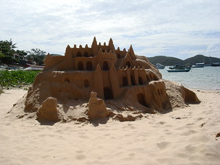 That's not a sand castle, THIS is a sand castle