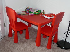 Galleries IKEA MAMMUT Kids Table And 2 Chairs Flickr