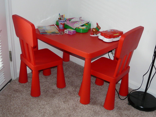 ikea mammut kids table and 2 chairs flickr photo sharing