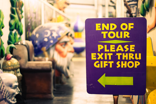 Exit Thru Gift Shop, Mardi Gras World