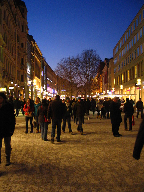 Munich Shopping Street