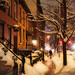 West Village Winter Scene