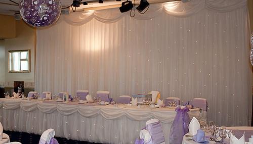 Starlight Wedding Backdrop