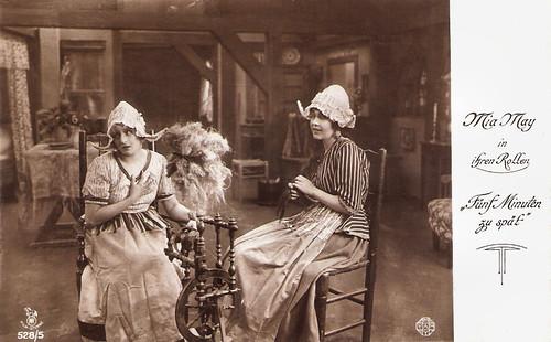 Mia May in Fünf Minuten zu spät (1918)