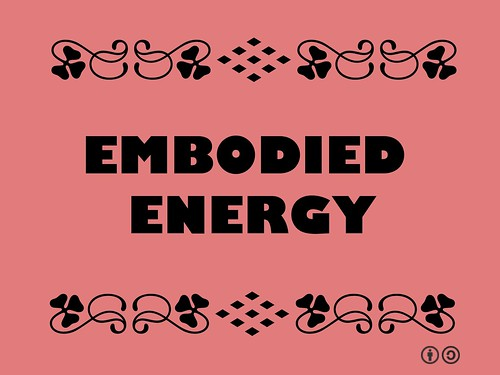 Buzzword Bingo: Emboddied Energy