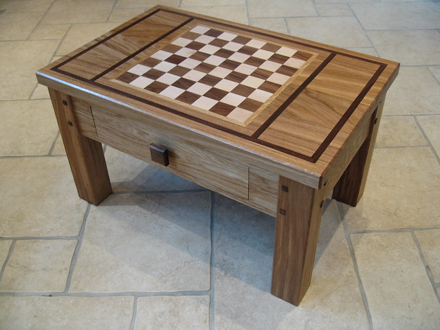 Woodtech Workshop Finely Crafted Chess Coffee Table Flickr Photo Sharing