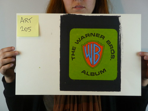 The Warner Brothers Album Test Print