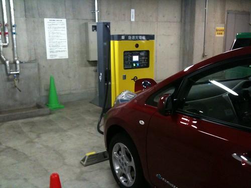 セルリアンタワーの電気自動車(EV)用 急速充電器