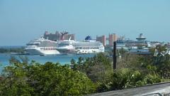Cruise Ships and Atlantis Resort
