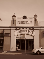 Motors Pty Ltd, Motor Garage