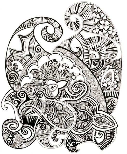 Arabic Henna Pattern Design (2010) | Flickr - Photo Sharing!