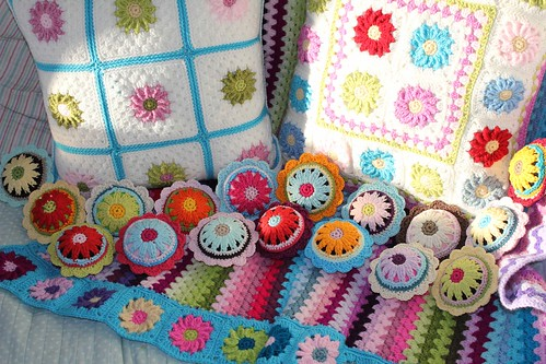 Finished cushions and pincushions