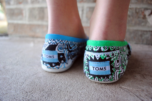 Jordan's TOMS Shoes 5